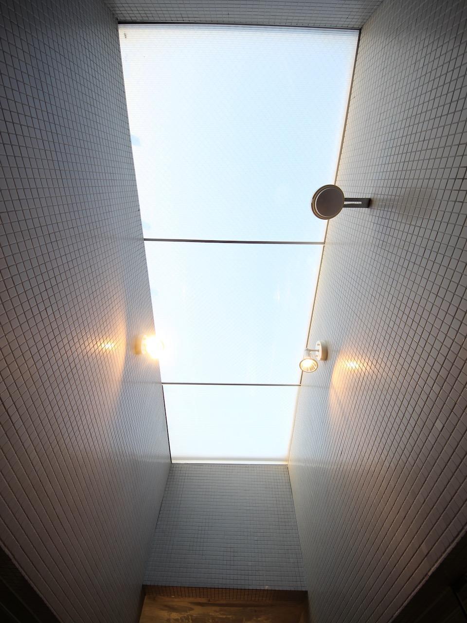 天窓から採光