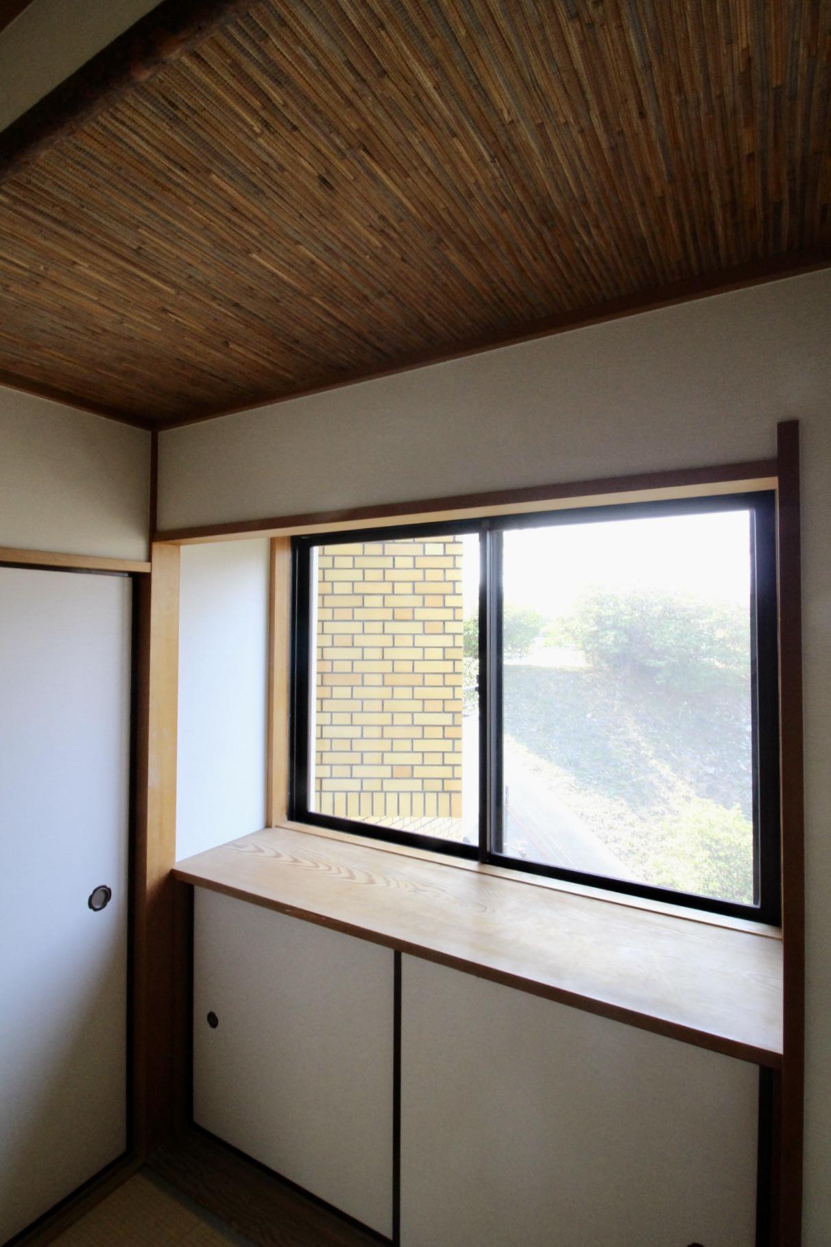 凝った天井の和室