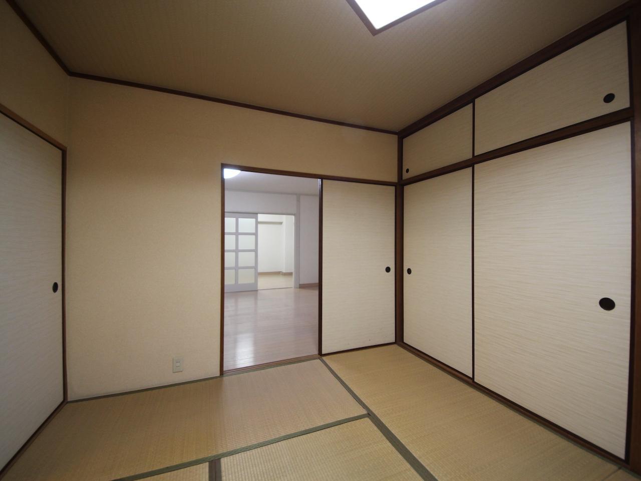 和室と洋室も繋がっています