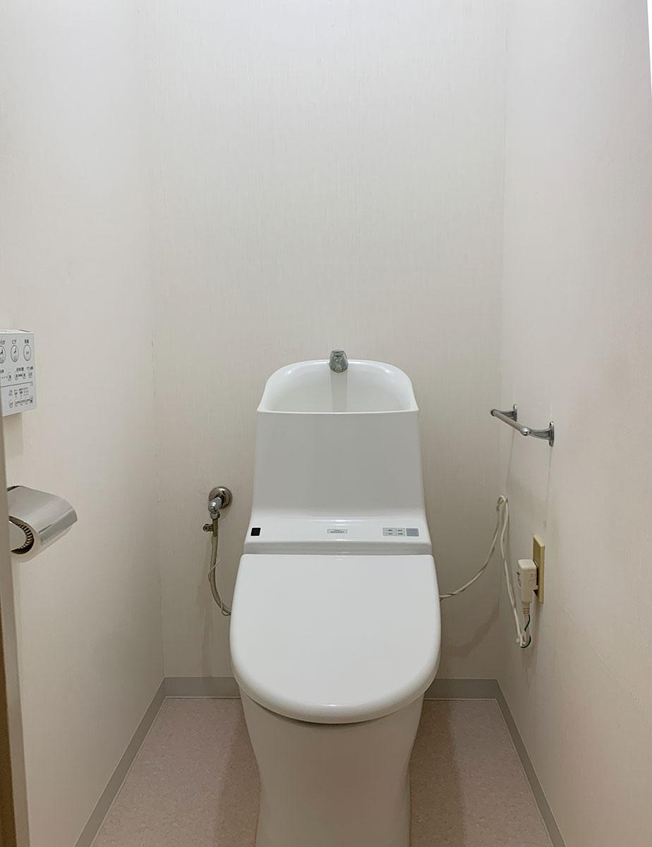 トイレはそのまま使えそう