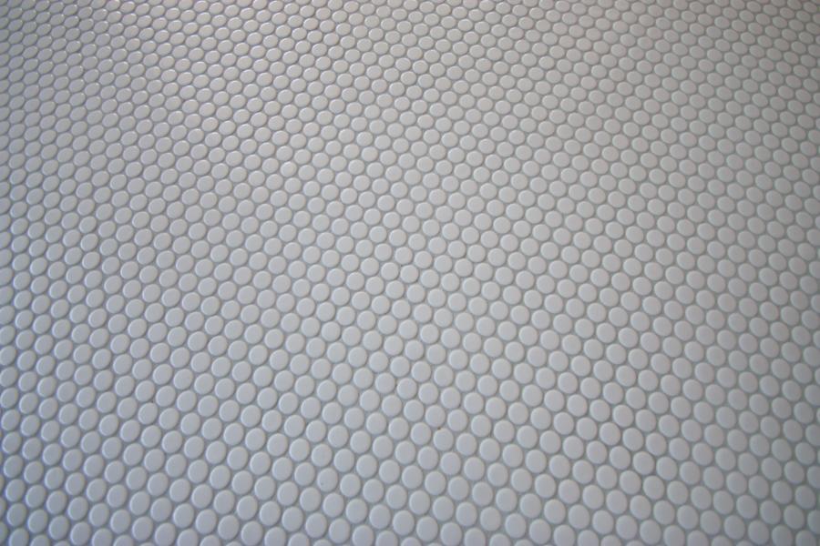 寝室の床はタイル仕上げ。サンルーム的な感覚で植物を置いたり。