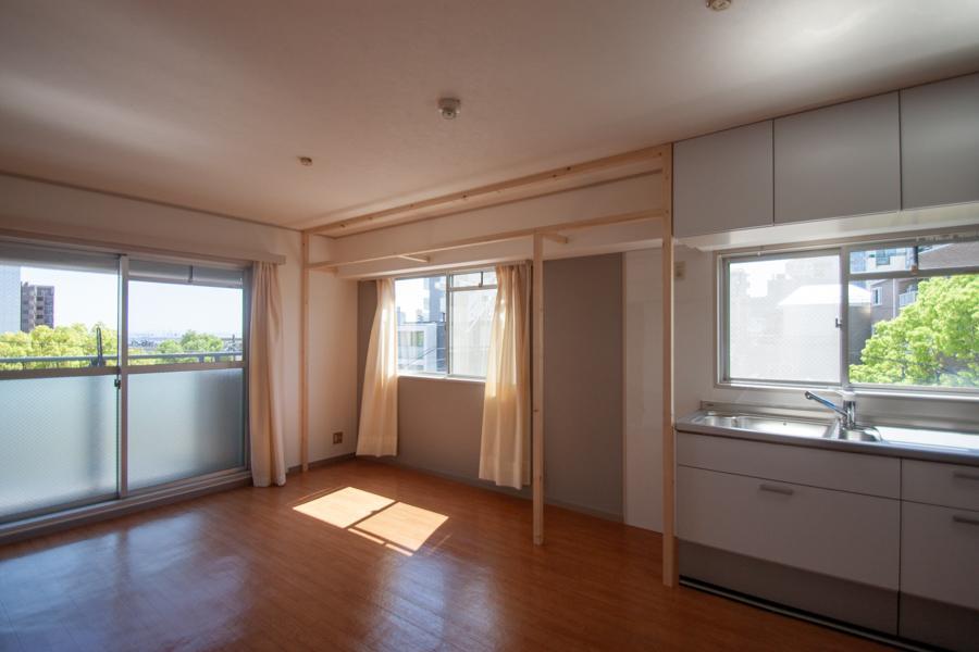 窓辺をカスタマイズできる部屋【407号室】