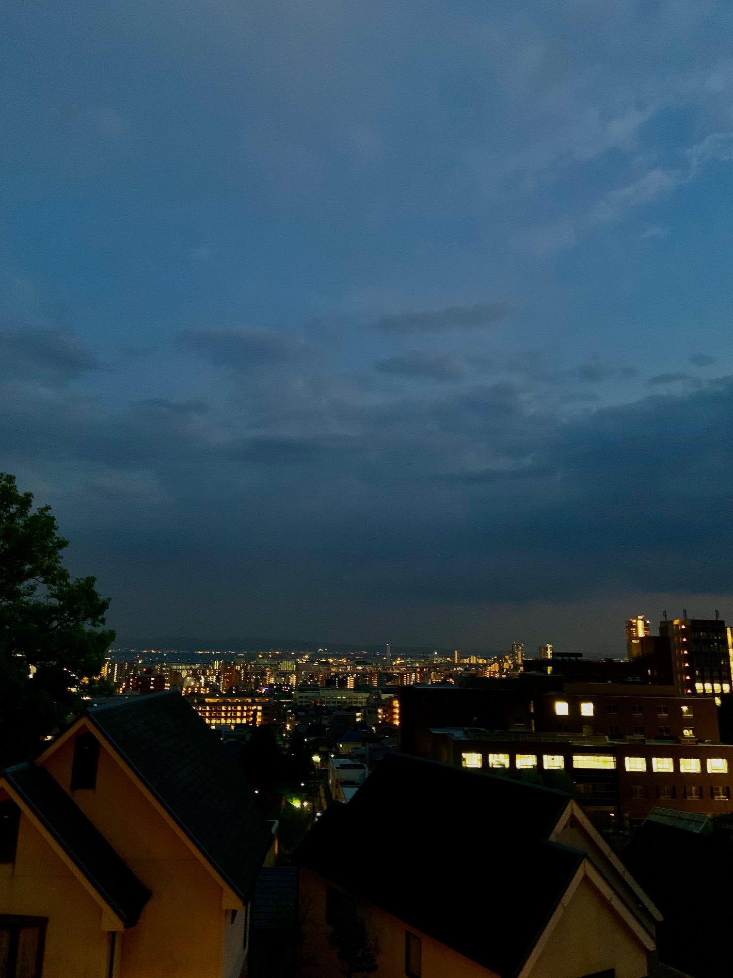 夜景もまた良い