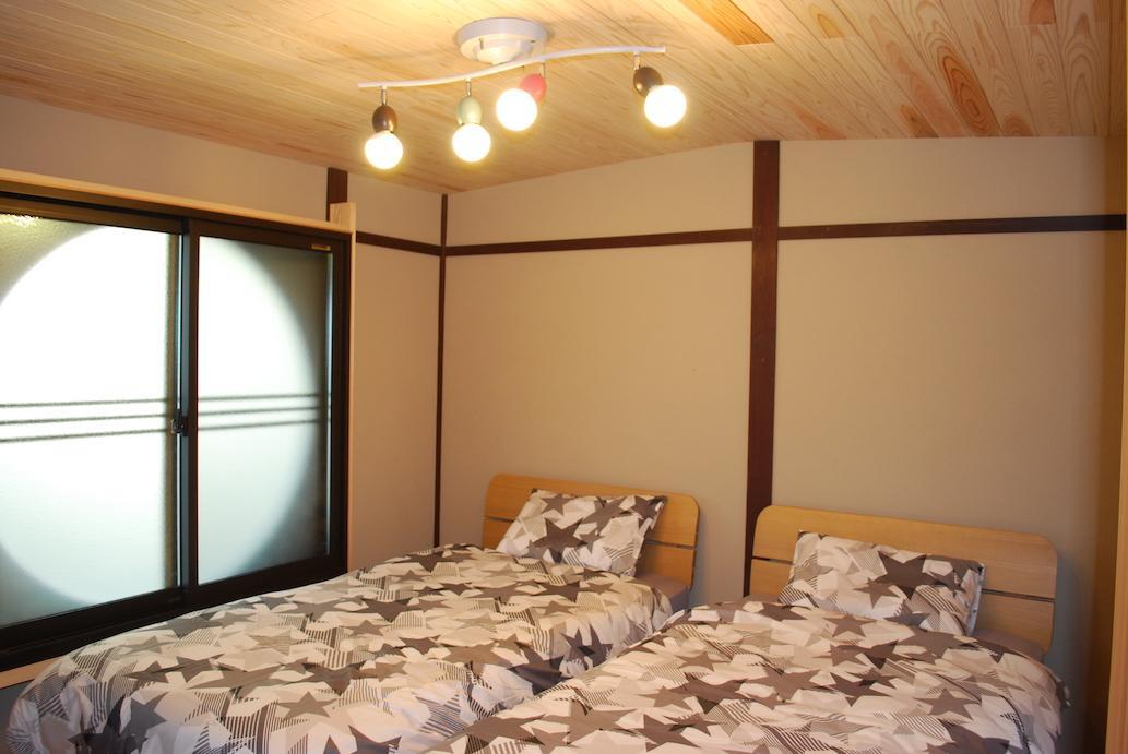 フリールーム 温かみのある木の天井
