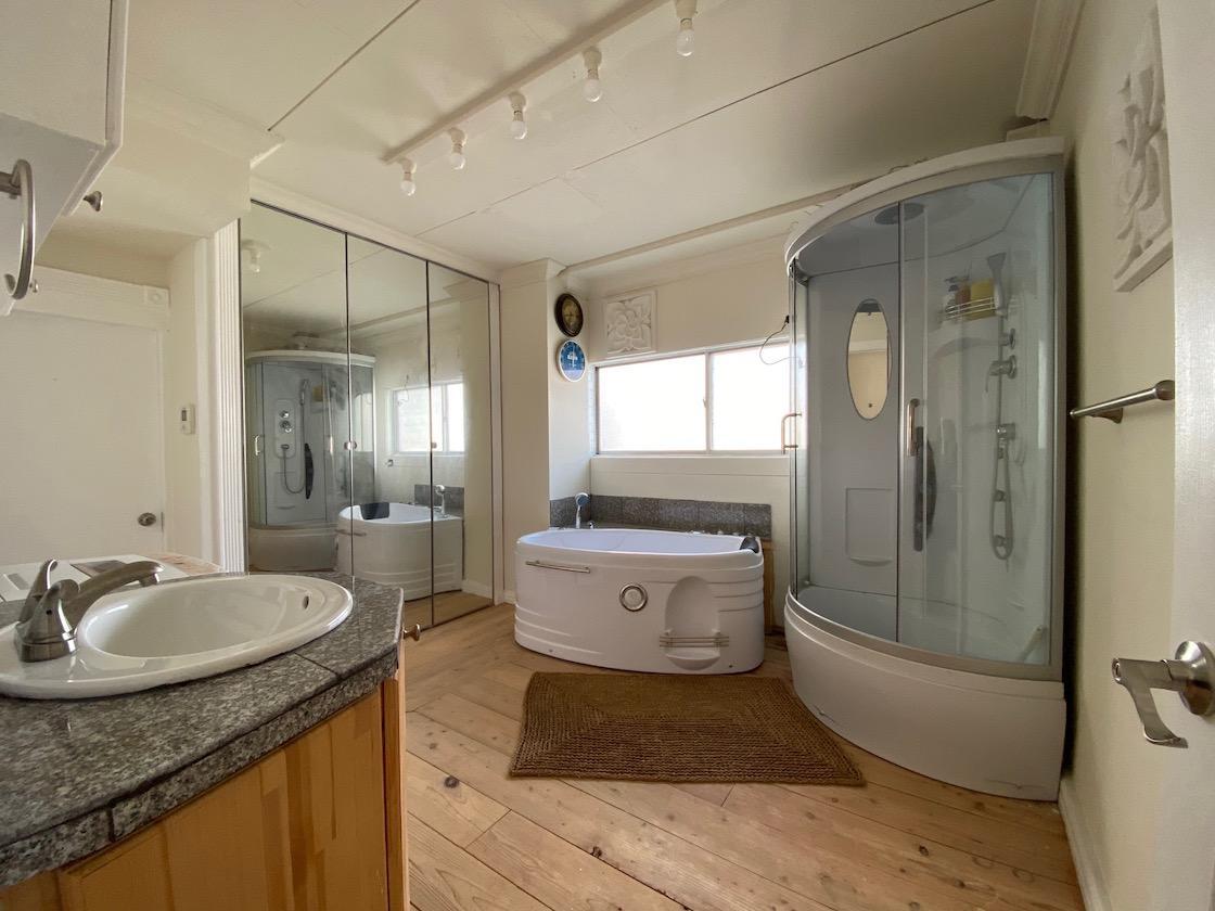 広々浴室スペース