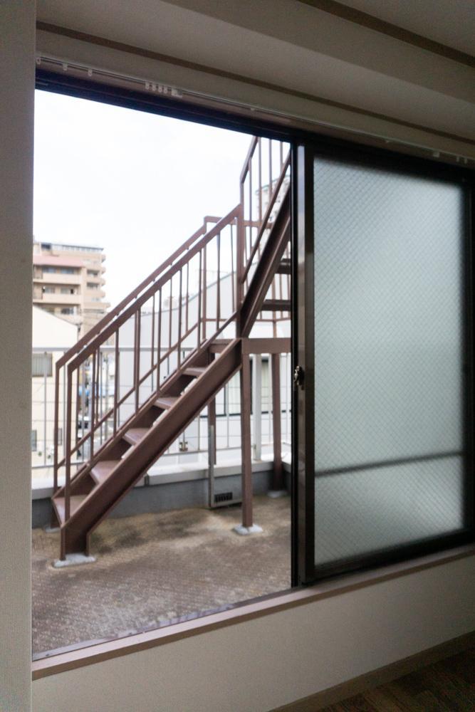 4階から屋上へ
