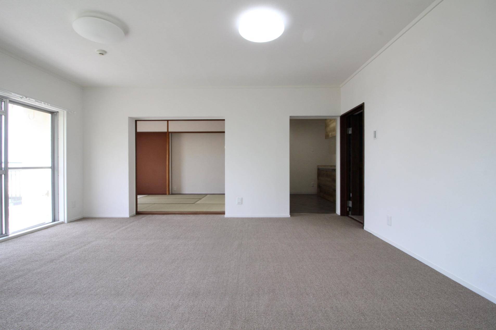 和室の壁を取っ払って開放的なLDKにしたい