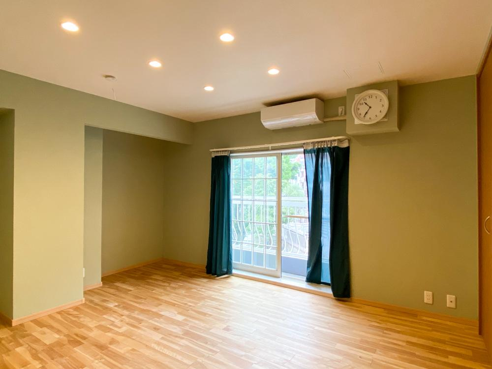 3階の寝室