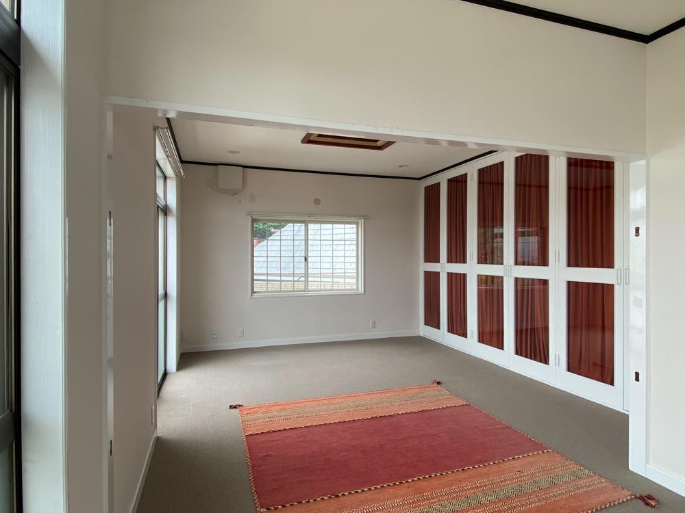 もともとの屋上に増築されたペントハウスのような部屋
