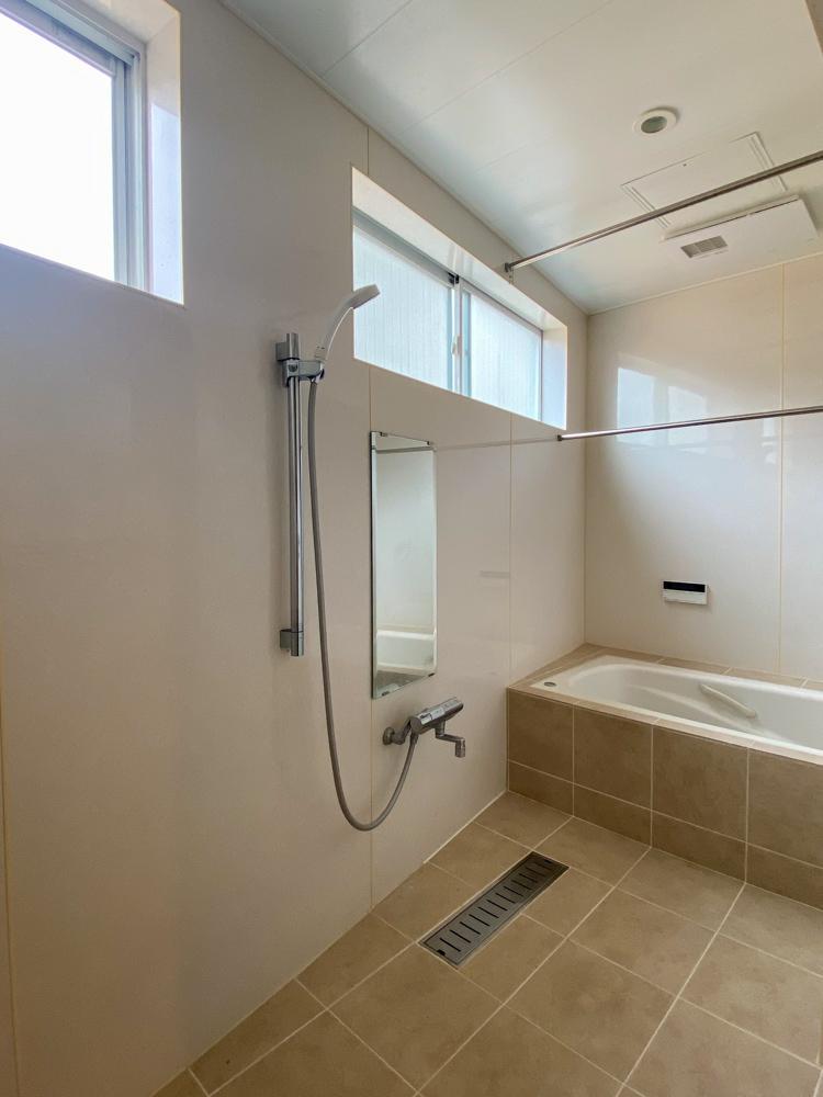 洗い場の広いお風呂