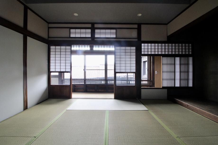 端正な造りの和室(201号室)