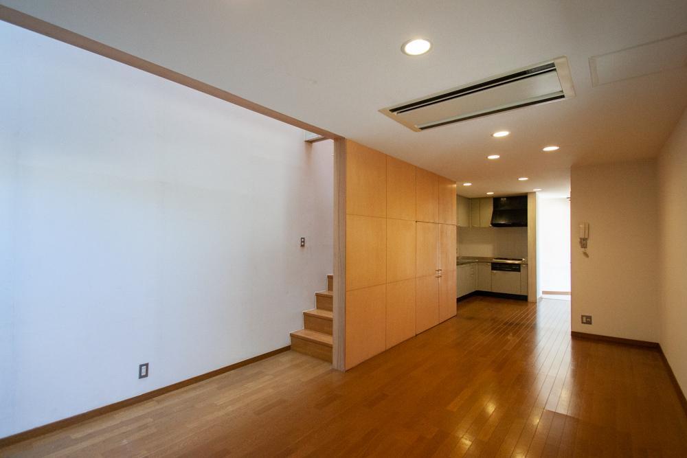 1階はリビングダイニングキッチン