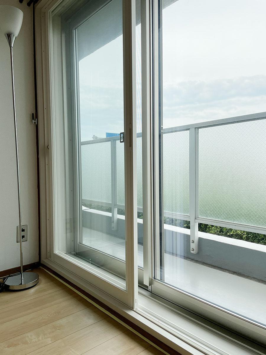 二重窓で静か