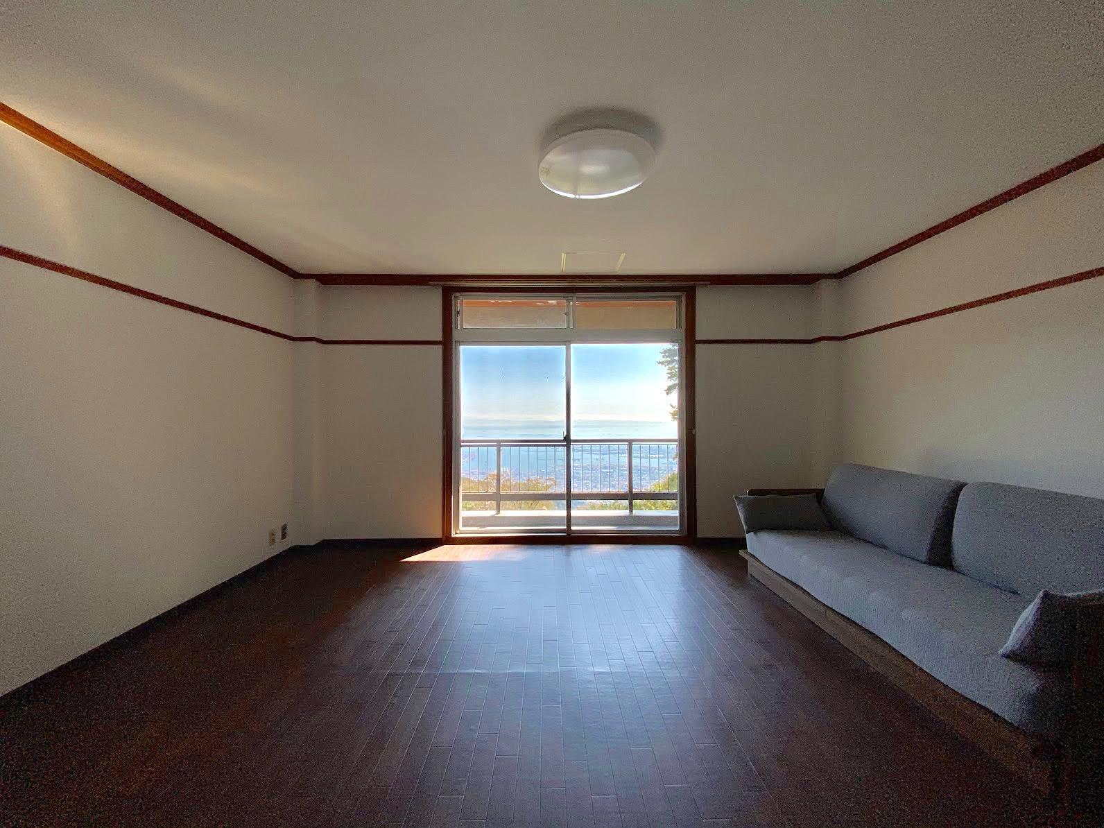 ゲストルーム 個室からも海の景色