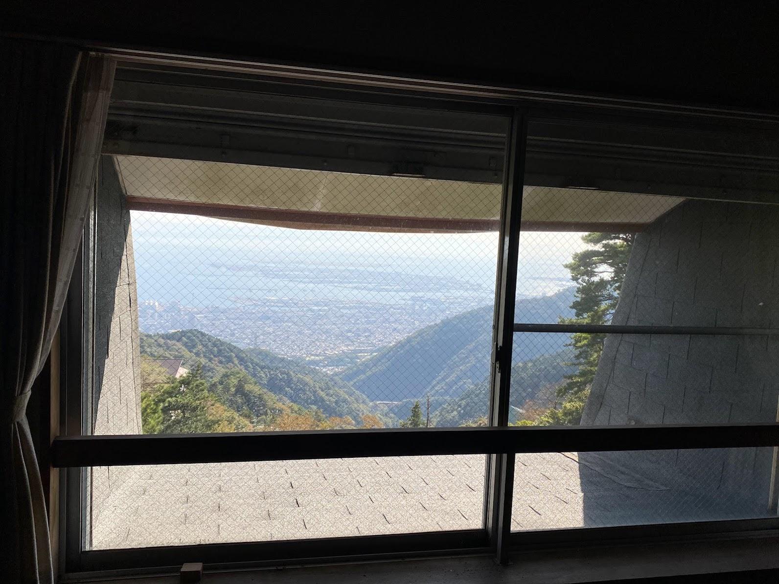 最上階からの景色