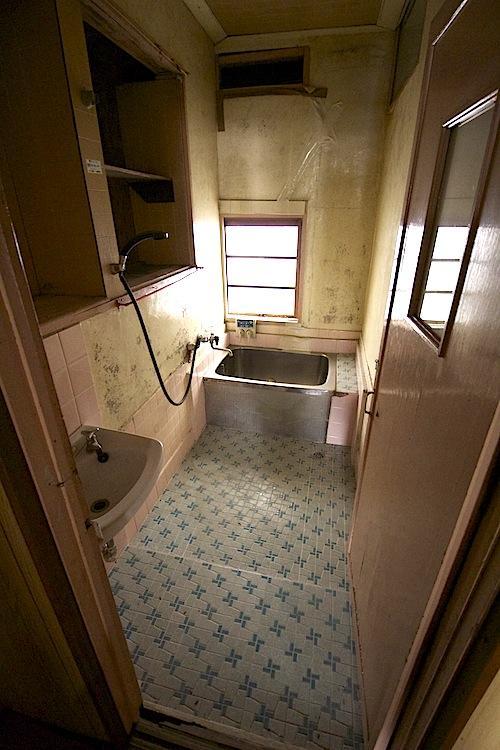 縦型だったら大きな浴槽も設置可