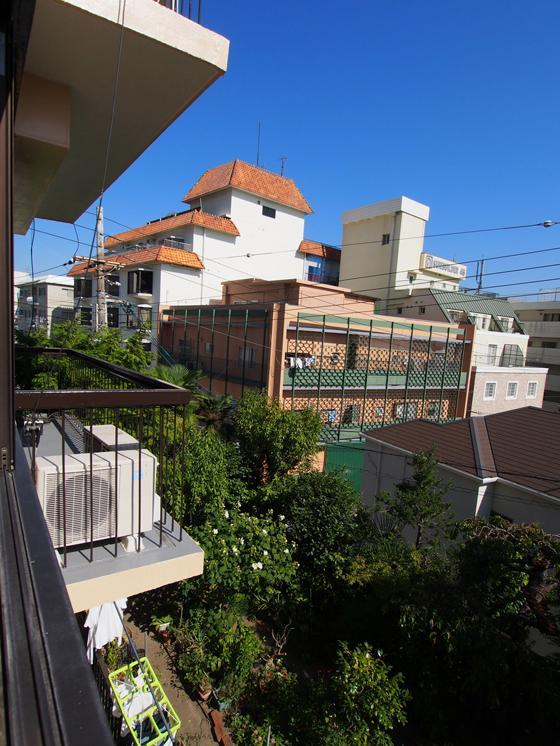 東側窓からの風景