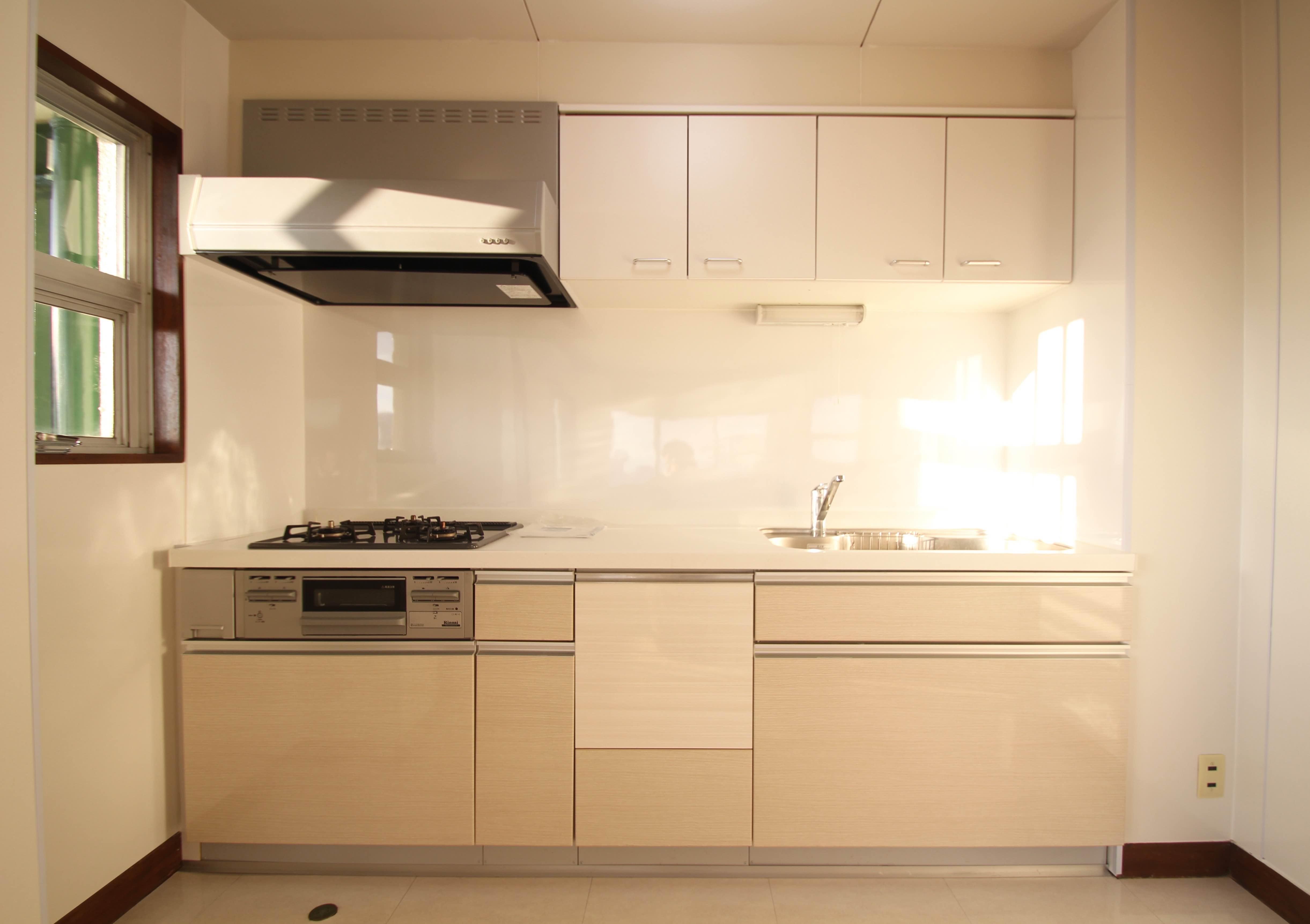 キッチンは最新で使い勝手が良さそう