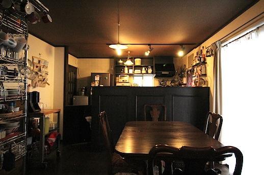 カフェようなダイニング・キッチン