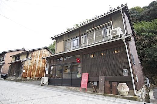 2軒隣りの古民家カフェ「暖木」さん。