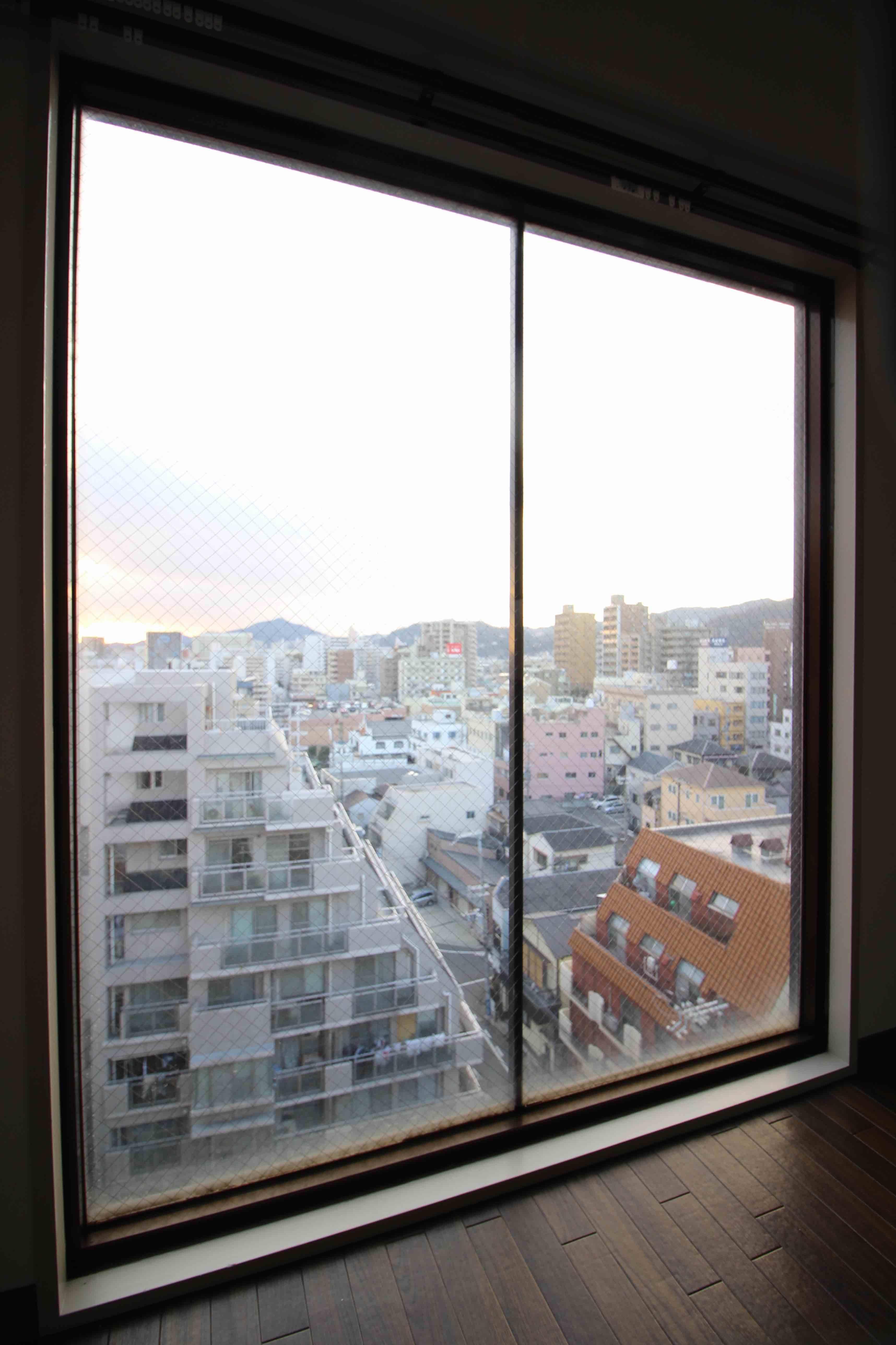 東側窓からの眺め