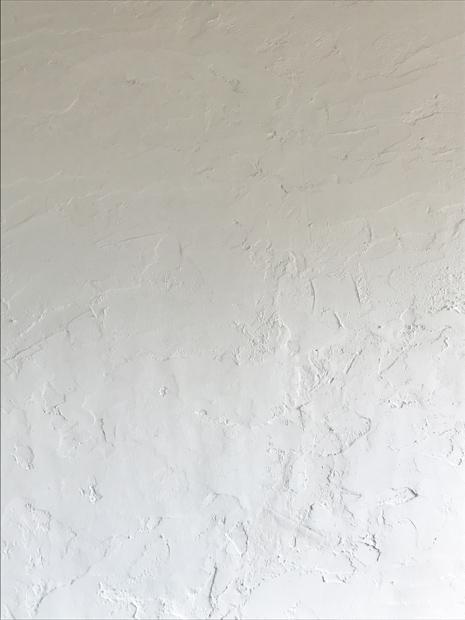 ザックリ塗り壁。