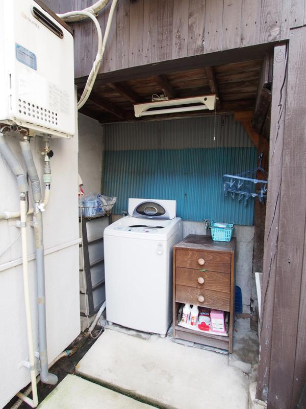 共用の洗濯機