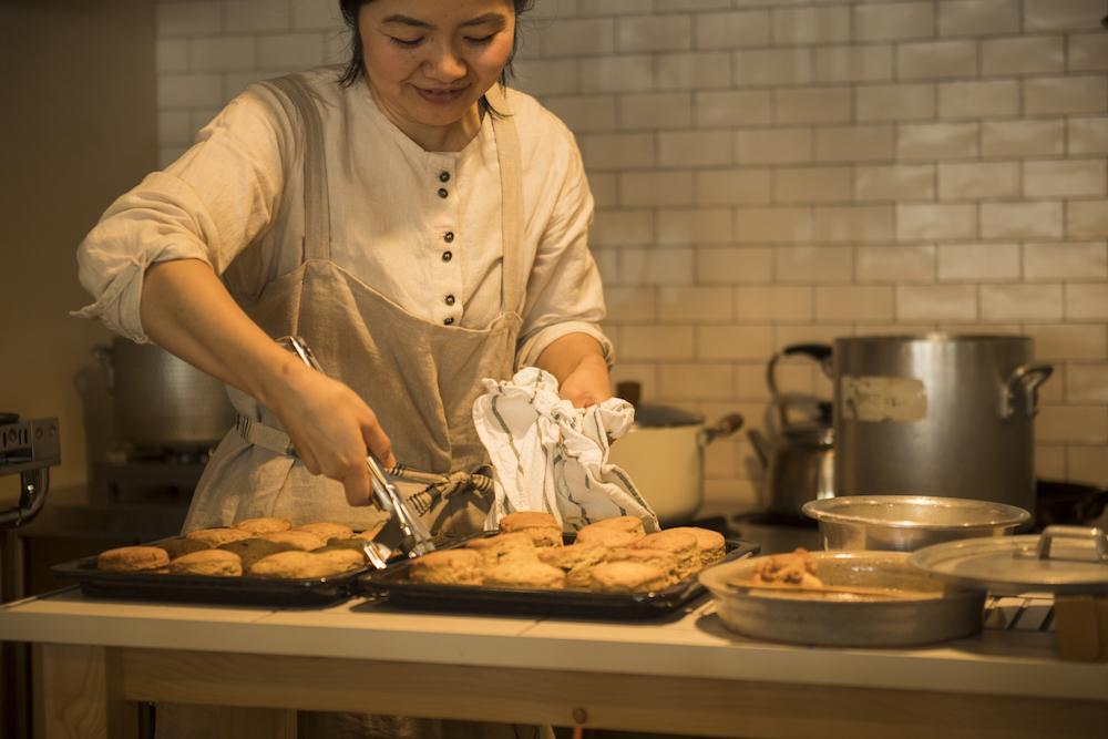FARMSTAND内でも様々な調理・加工が行われています。