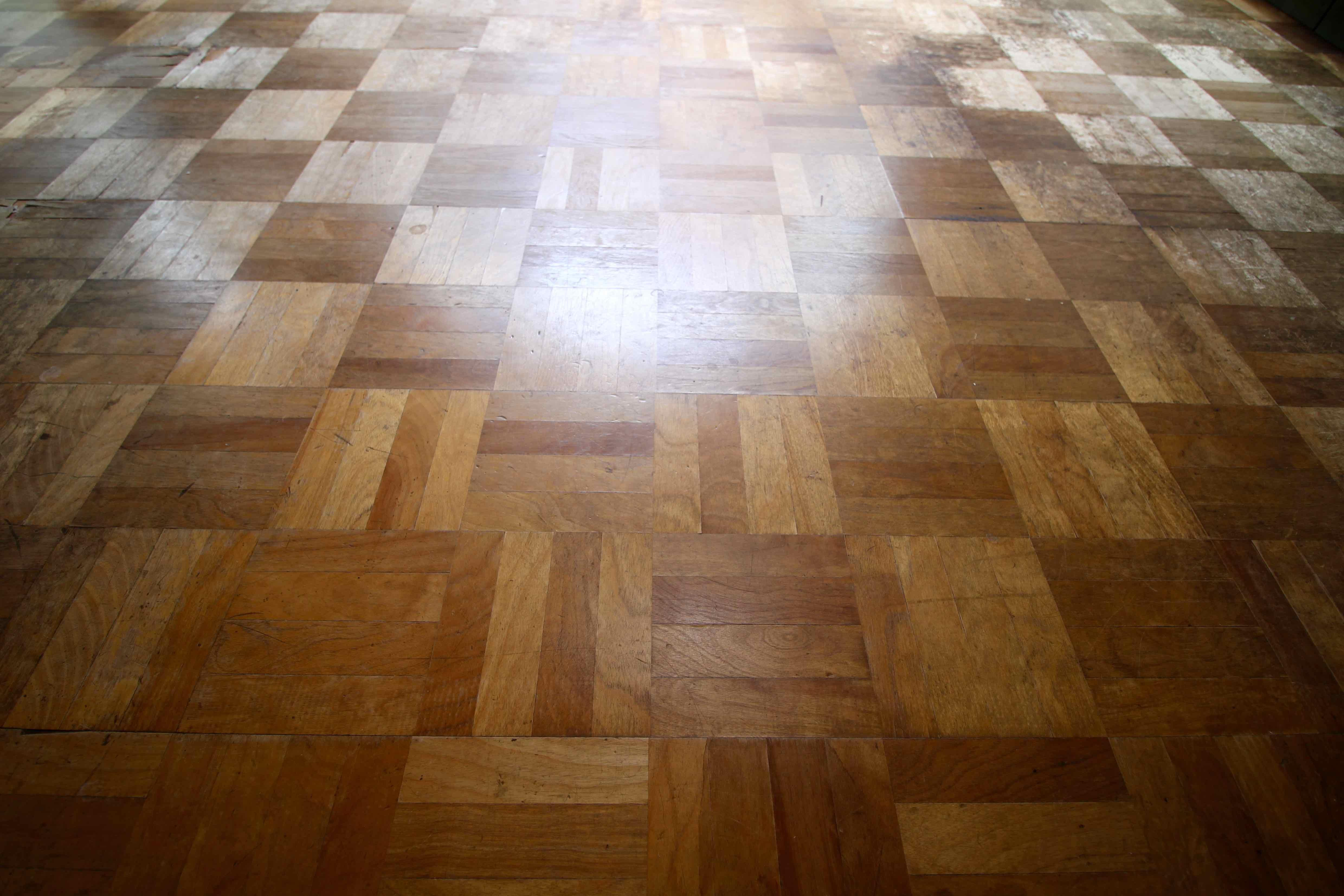 味のある床