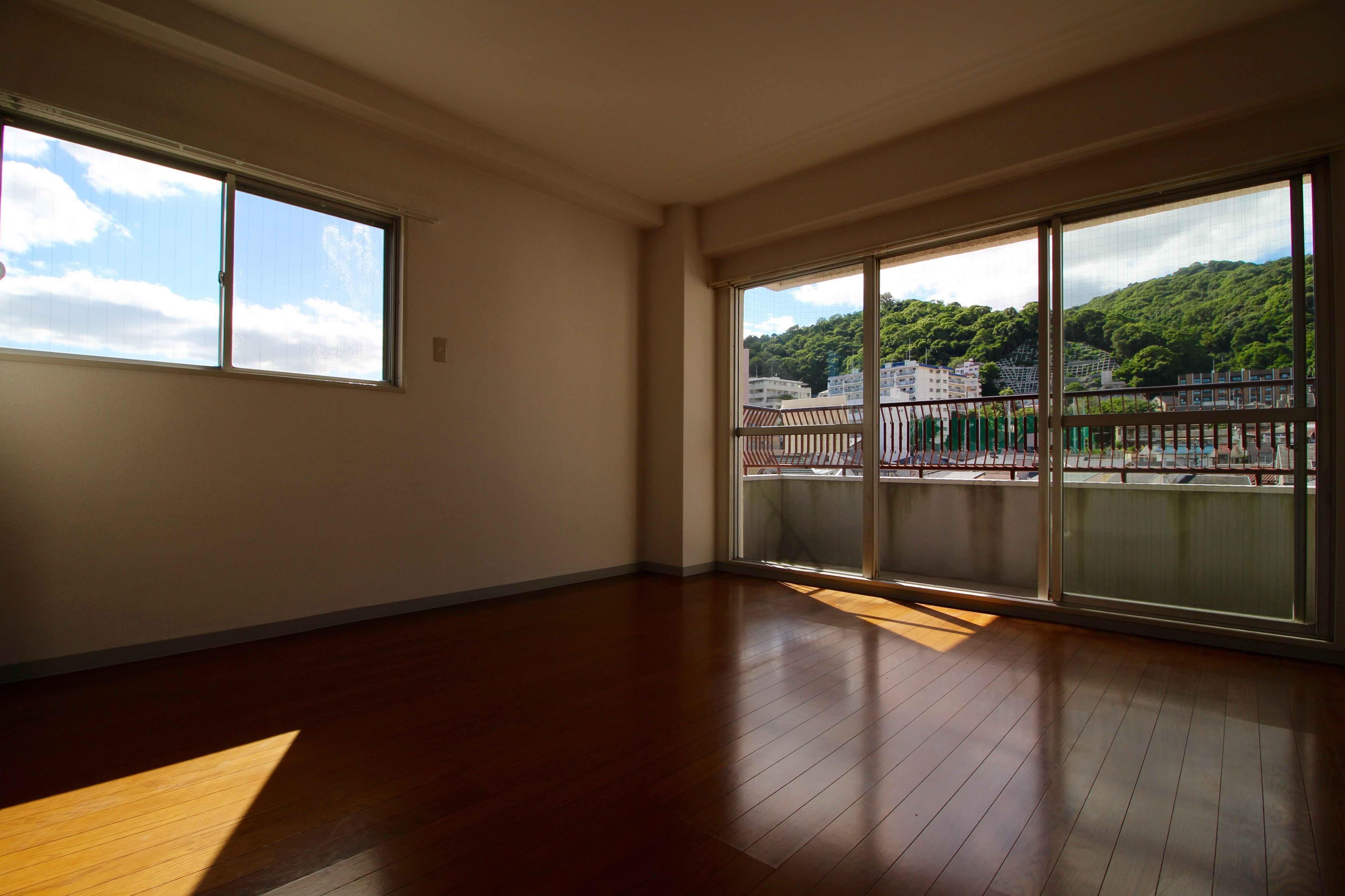 山と都会の開放感 (神戸市中央区中山手通の物件) - 神戸R不動産