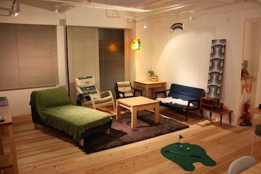家具のレイアウトも自由なリビング