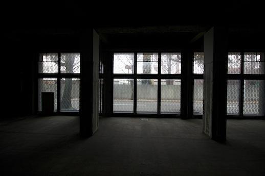ズラリ窓。抜群の開放感