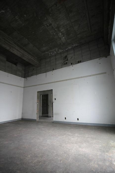 こちらも旧事務スペース!?