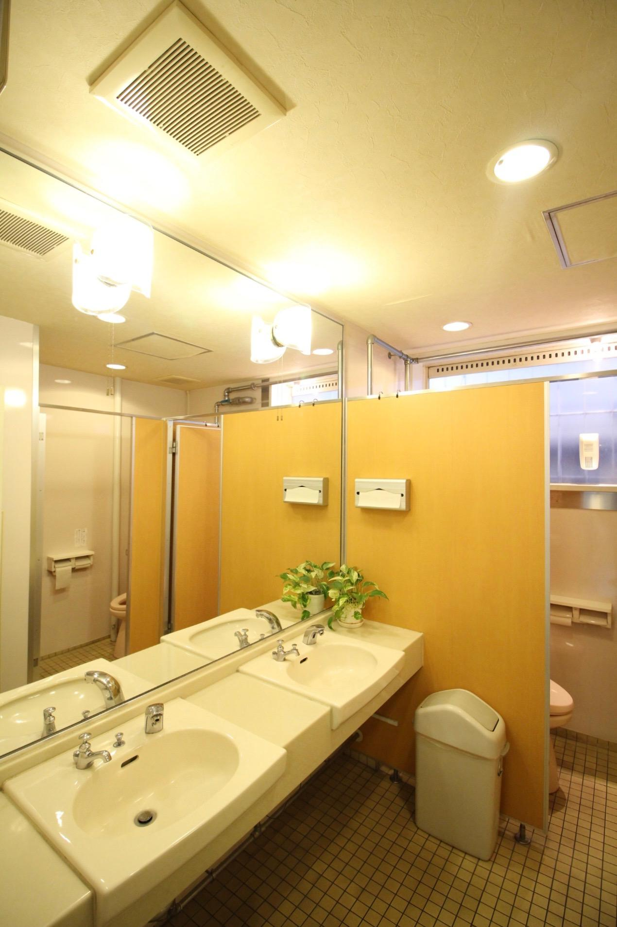 清潔感のあるトイレ(女性専用)