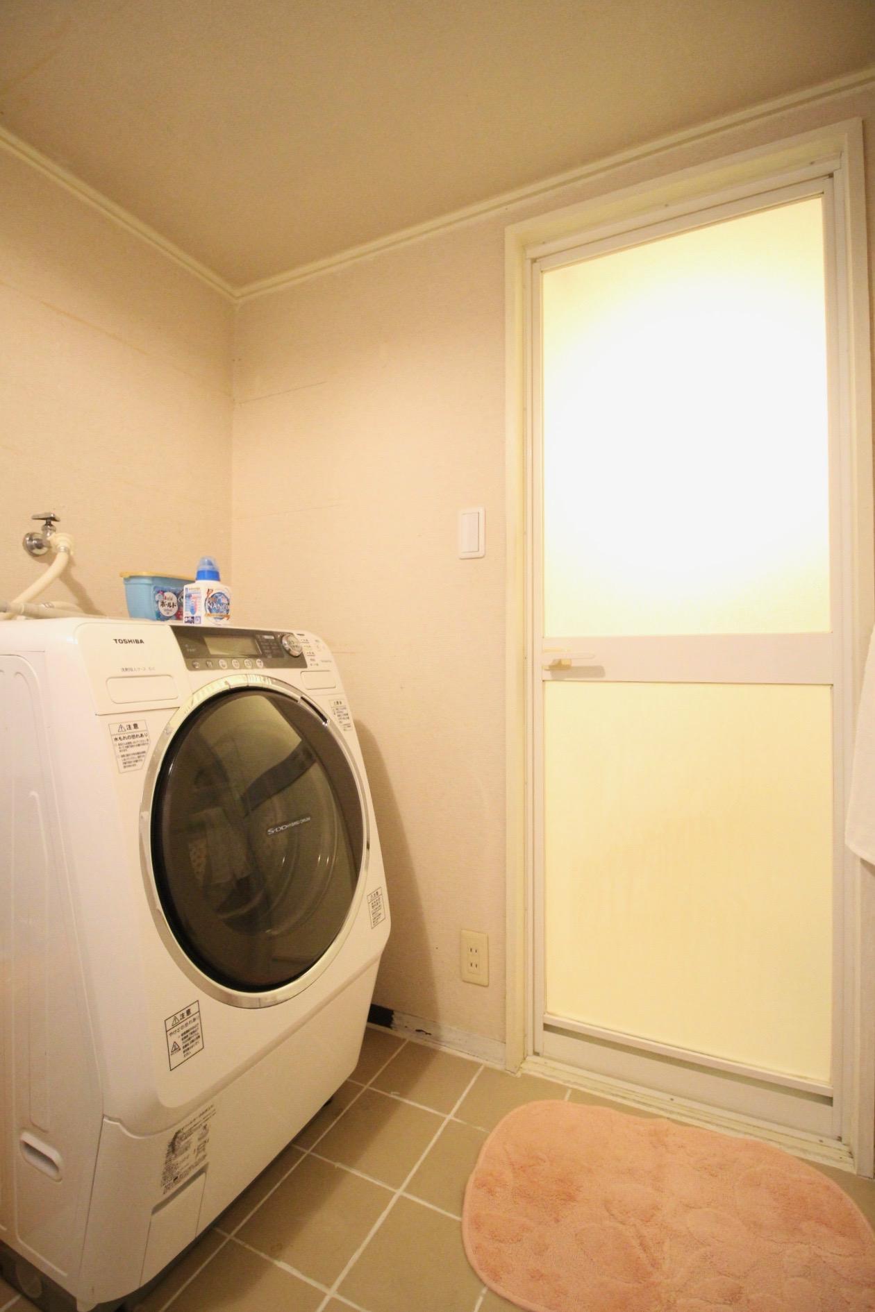 もれなくドラム式洗濯機、ついてます