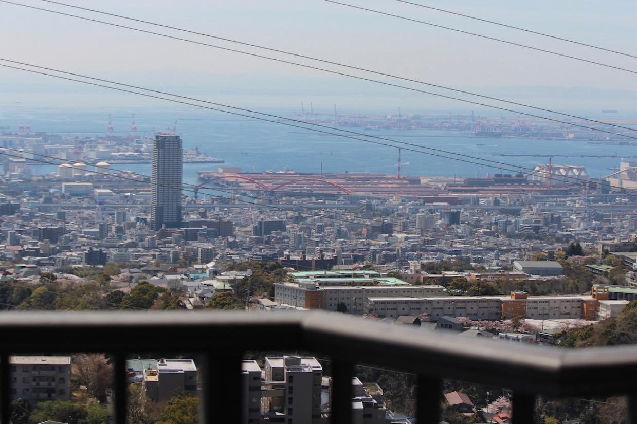 大阪湾〜瀬戸内海まで余裕で望める