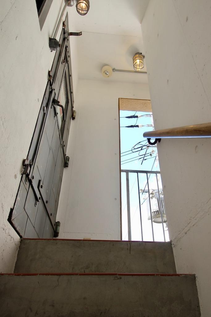 階段を上るのもワクワク