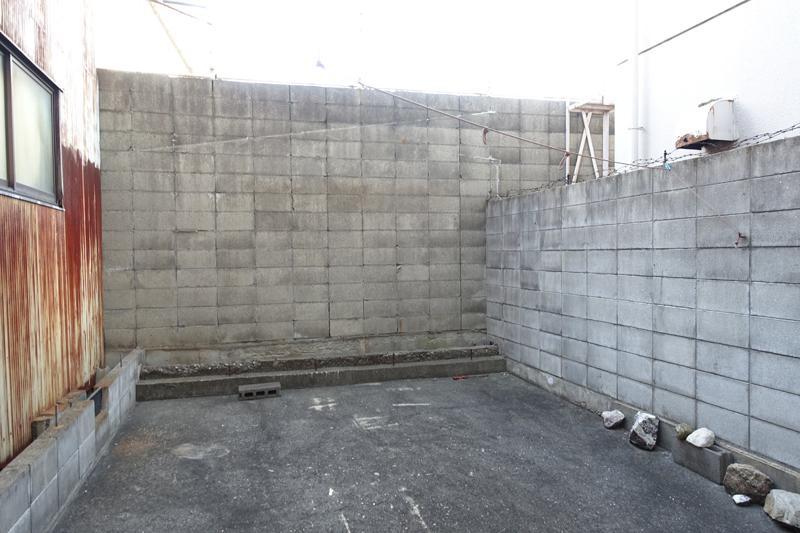 ブロックで囲われたスペースが