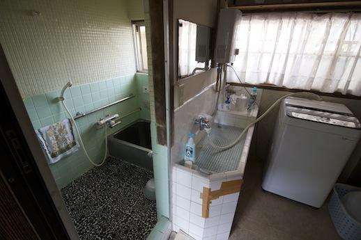 洗面とお風呂廻り