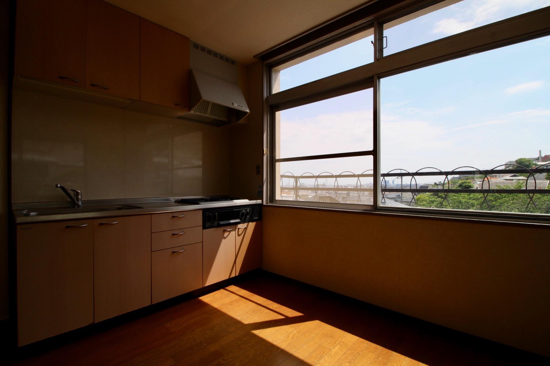 料理しながらこの眺め(503号室)