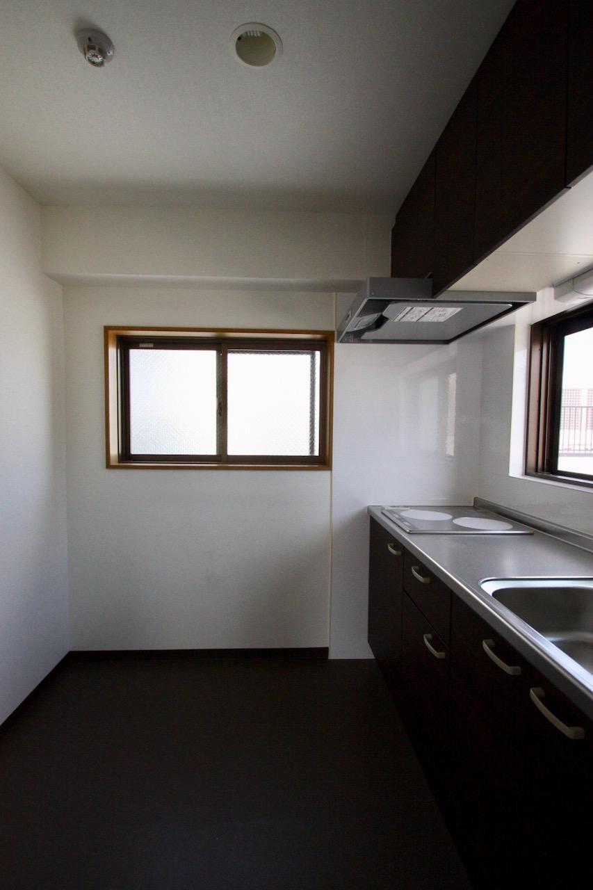 キッチンも十分な広さ。