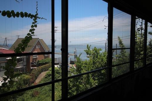 2階東窓からご覧の景色