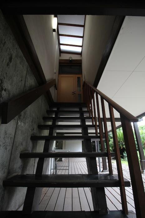 抜け感のある階段スペース