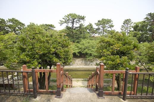 香櫨園付近の夙川公園は脇を車が通れないので一際おだやか