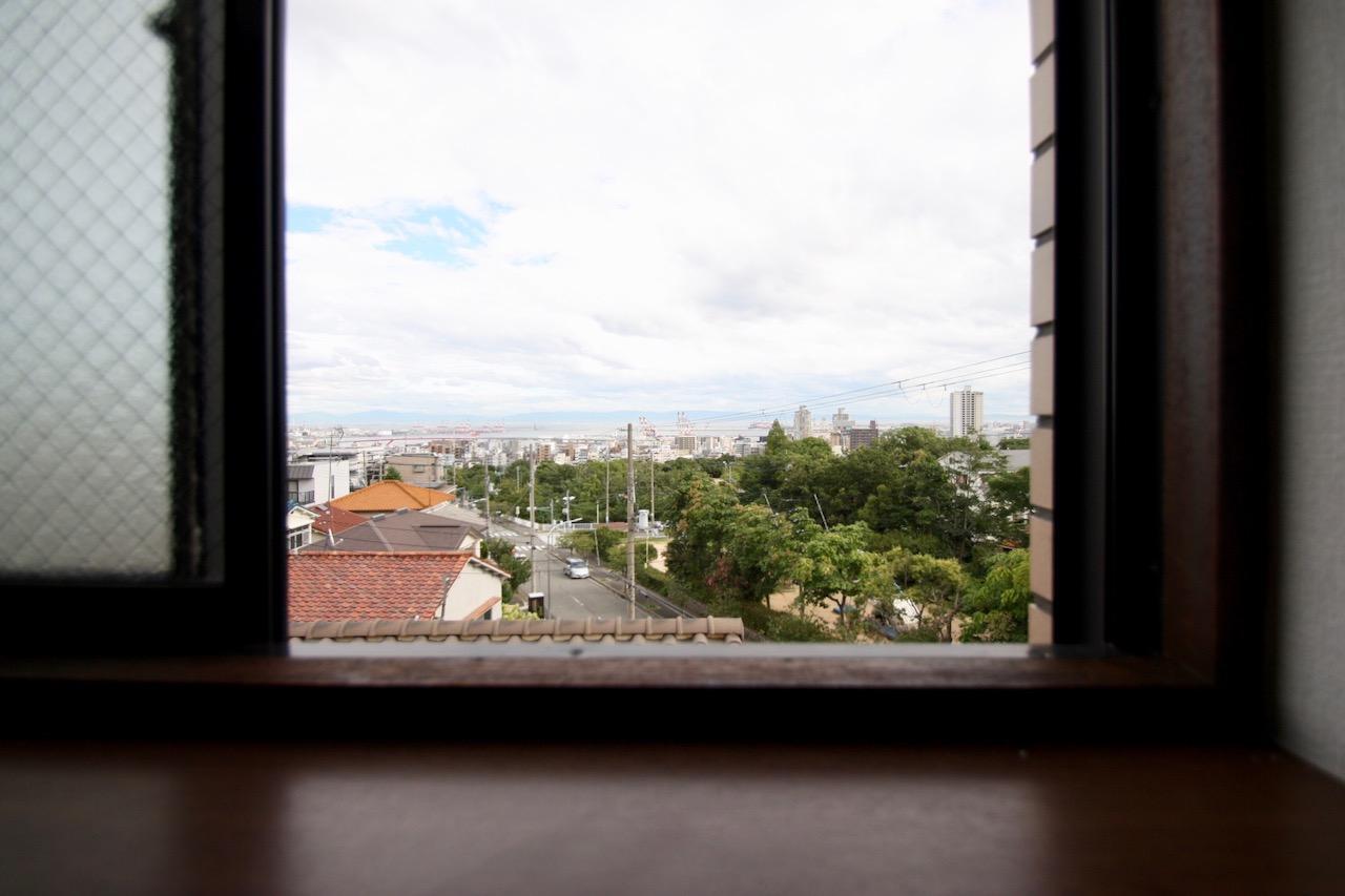 窓からはもちろん海ビュー