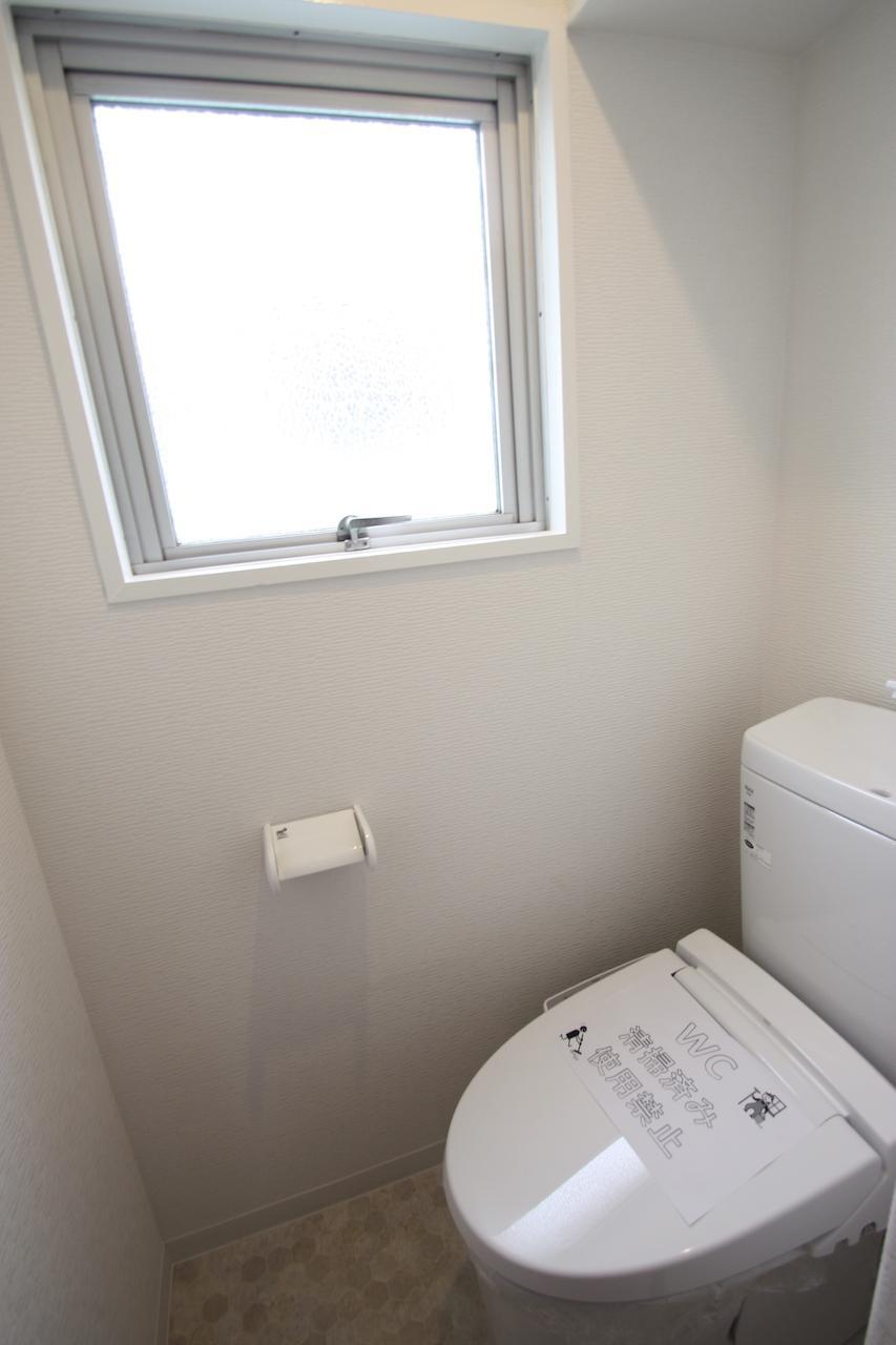 2階にもトイレあり