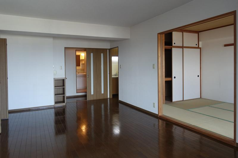 リビングと和室でゆったりとしたサイズ