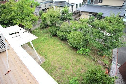 たんまり家庭菜園が楽しめる南向きの大きな庭