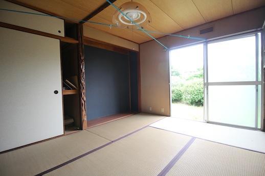 庭に面した1F和室。縁側暮らしを楽しみたい
