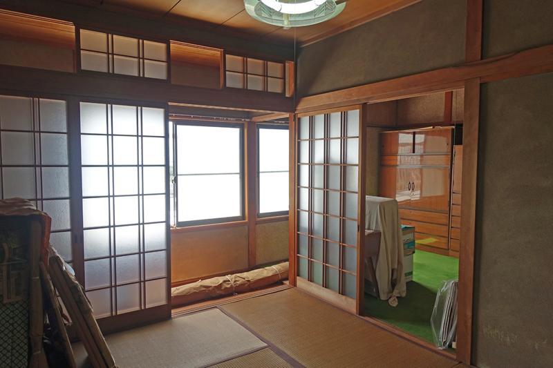 2階和室と縁側